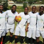RE Sporting players, Senzo Ntshangase (manager/player), Sipho Kula, Chris Buthelezi, Lucky Zulu and Wiseman Qwabe all play in the Hollywoodbets Masters Soccer League.