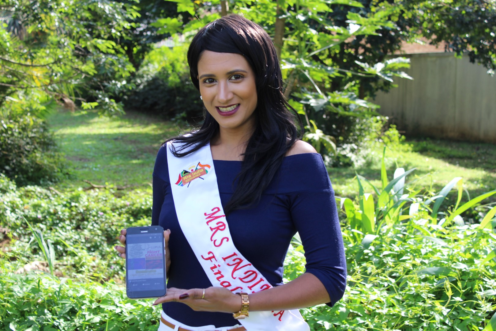 Effingham resident, Nicole Maistry is one of this year's Mrs India finalists.
