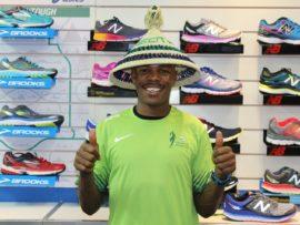 Eric Ngubane finished 26th at this year's Comrades Marathon.