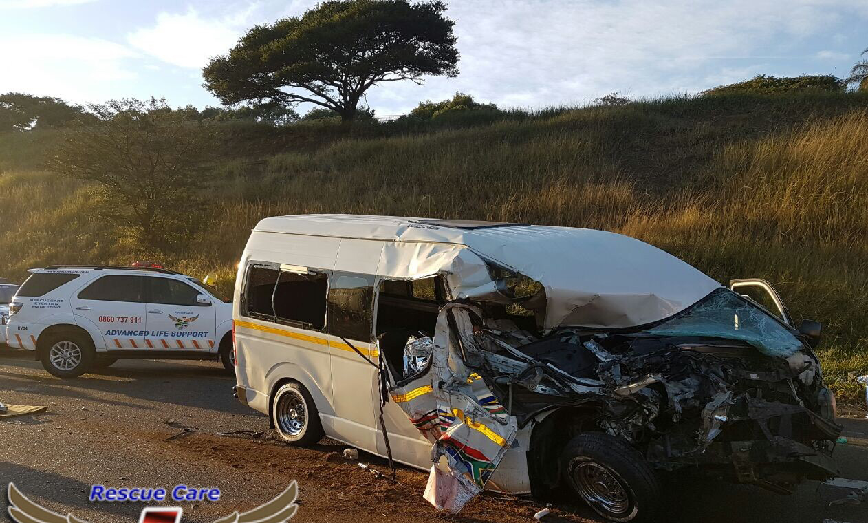 Four people were killed in the accident. PHOTO: Rescue Care