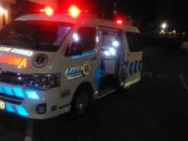 The man was transported to Addington Hospital. PHOTO: Crisis Medical