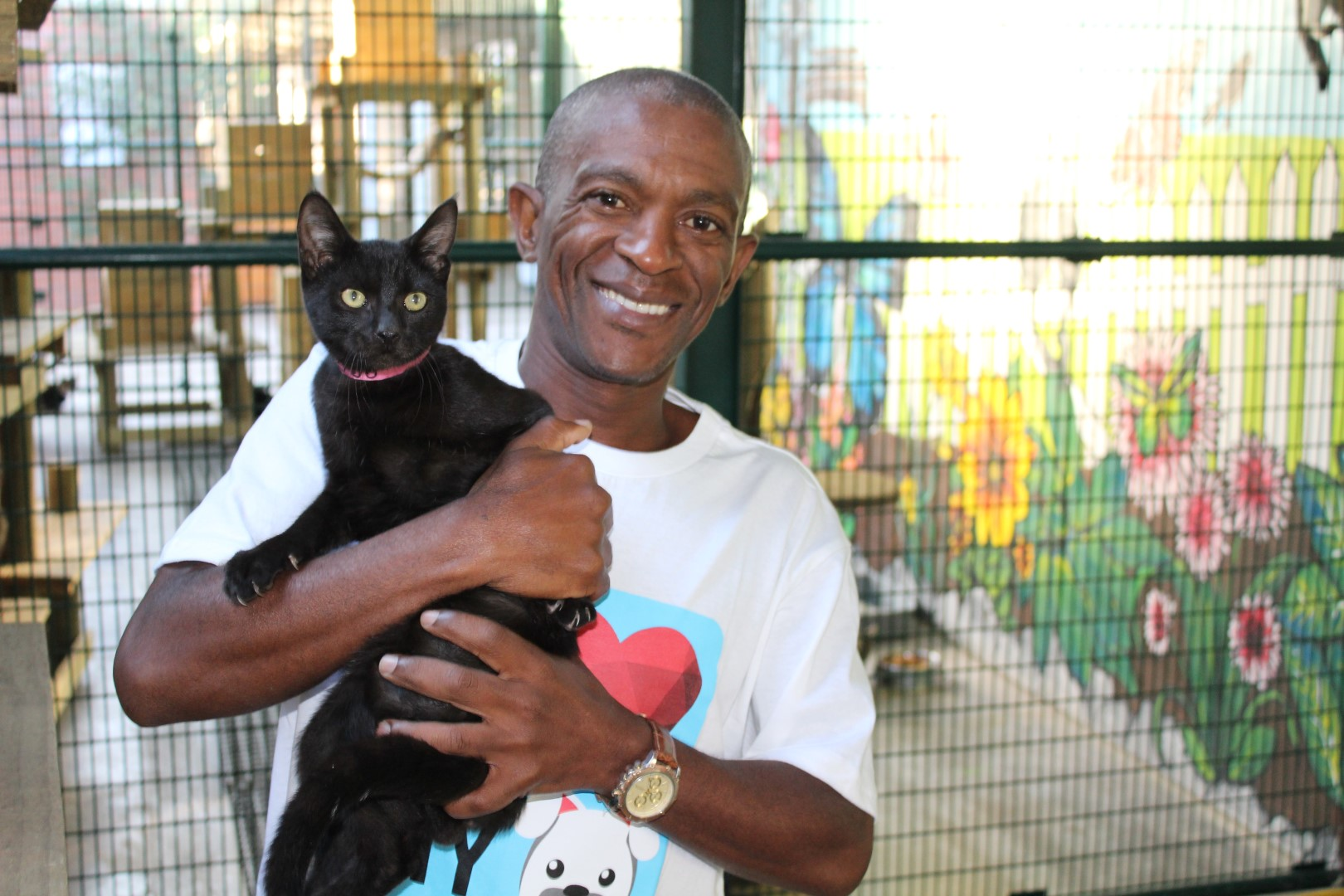 Chief Mthembu will be a number of marathons and races this year to raise funds for the Durban & Coast SPCA.