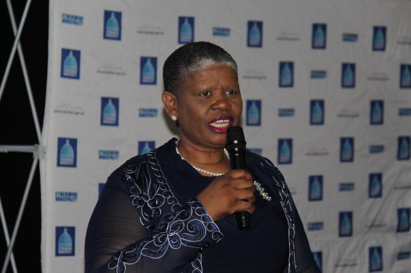 Ethekwini Mayor, councillor Zandile Gumede.