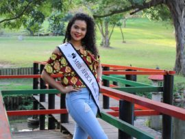Redhill resident, Jamie de Bruine is a finalist in this year's Miss Africa competition.