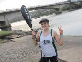 Kyeta Purchase is hoping to make home ground advantage count and medal at this year's ICF Canoe Marathon World Championships in Camps Drift.