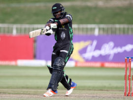 After some strong performances in the Momentum One Day Cup last season, Sibonelo 'Sibz' Makhanya is hoping to develop into an all-formats contributor to the Hollywoodbets Dolphins this season. PHOTO: Anesh Debiky