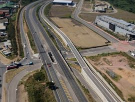 The eThekwini Municipality was recently awarded the highly commended award in the category of technical excellence at the South African Institution of Civil Engineering (SAICE) regional awards held in the June for the M25/ Bhejane Road Underpass Interchange in KwaMashu. PHOTO: courtesy of GO!Durban
