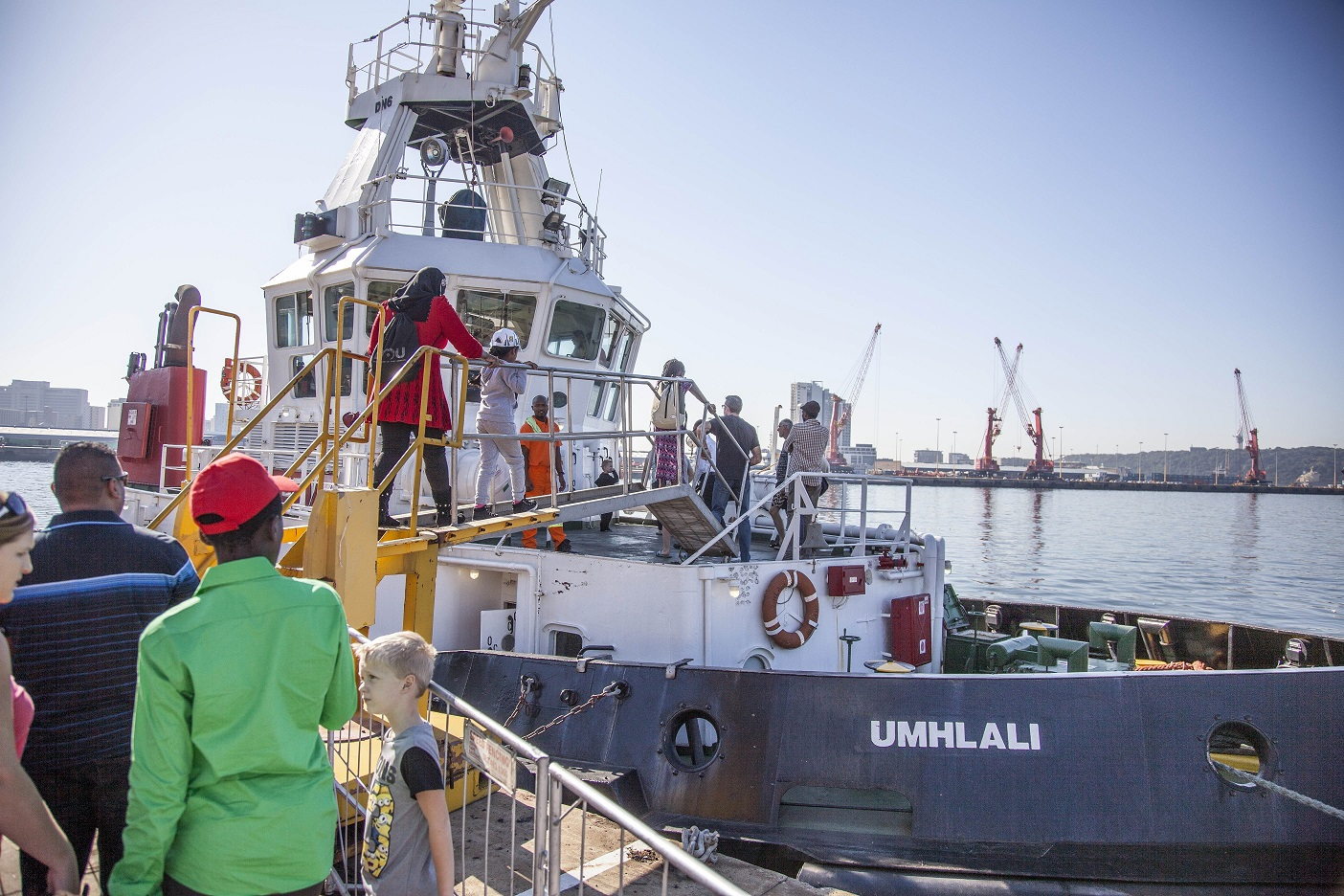 The festival line up includes tours of South African Navy ships, tugboat displays, a careers exhibition focusing on maritime vocations