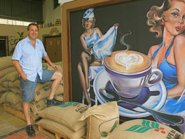 Visit The Coffee Merchant this Summer.