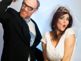 We are giving away a total of 20 tickets to 10 lucky readers. Each winner can win a pair of tickets to the preview show of Marriage for Dummies on Saturday, 21 February at the Elizabeth Sneddon Theatre.