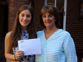 The Independent Examinations Board (IEB) reported a 98.76 per cent matric pass rate for 2017. Our Lady of Fatima learner, Rachel Springate had 7As which included 92% for Geography (which placed her in the top 1% in the country) and 95% for maths. She is congratulate by principal Dee Horsfall.