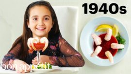 Kids Try 100 Years of the Most Expensive Foods   Bon Appétit