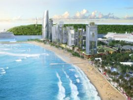 The R300 million Beachfront promenade extension is a catalyst to the R35 billion Point Waterfront development to be undertaken in three phases over five to ten years. PHOTO: Ethekwini Municipality