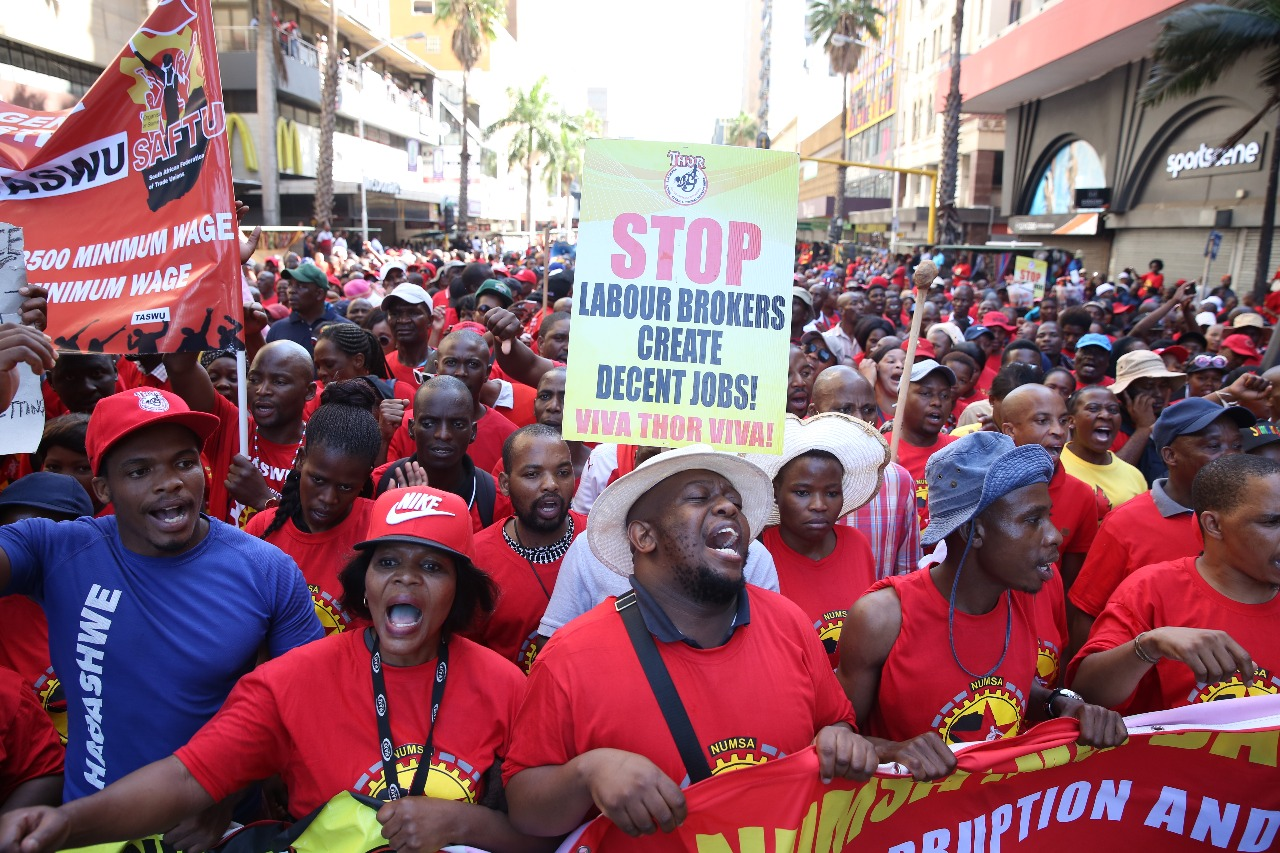 Benoni not affected by Saftu strike
