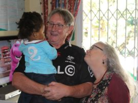 Richard and Rachel Uys of the Ray of Hope Babies Home have appealed to the community to help the non-profit organisation which faces the threat of closure if it cannot secure financial stability.
