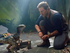 Jurassic World: Fallen Kingdom stars Chris Pratt.