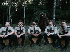 Fired for their previous shenanigans, former Vermont Highway Patrol officers Thorny, Farva, Rabbit, Foster and Mac get a shot at redemption.