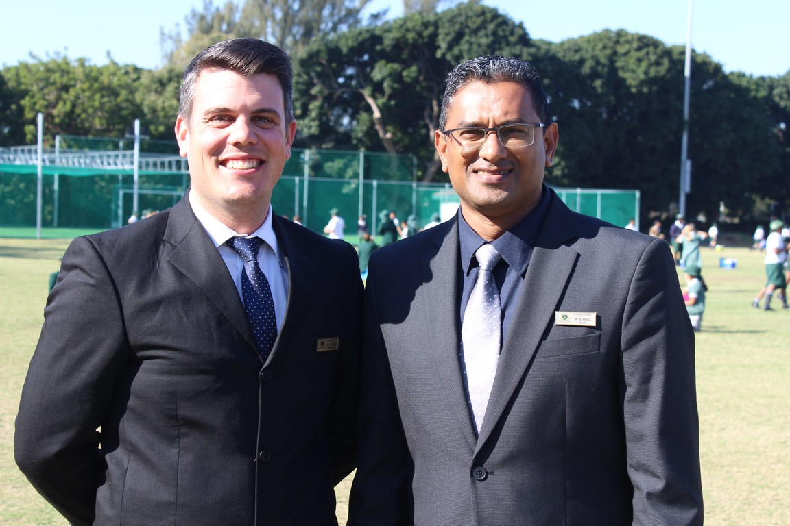 Northlands Primary School recently appointed a new deputy principal, Anthony Hoyer, and principal, Alistair Naidu.