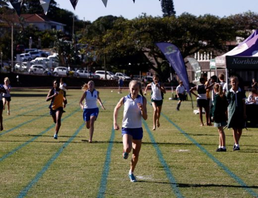 Tia Terblanche in action at a recent inter-schools athletics meeting. PHOTO: Shawn Meaker