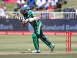 Proteas star Hashim Amla was announced as the marquee player for the Durban Heat, the Durban-based side for the upcoming Mzansi Super League. PHOTO: Anesh Debiky (Gameplan Media)