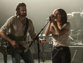 This musical drama stars Bradley Cooper, Lady Gaga and Sam Elliott.
