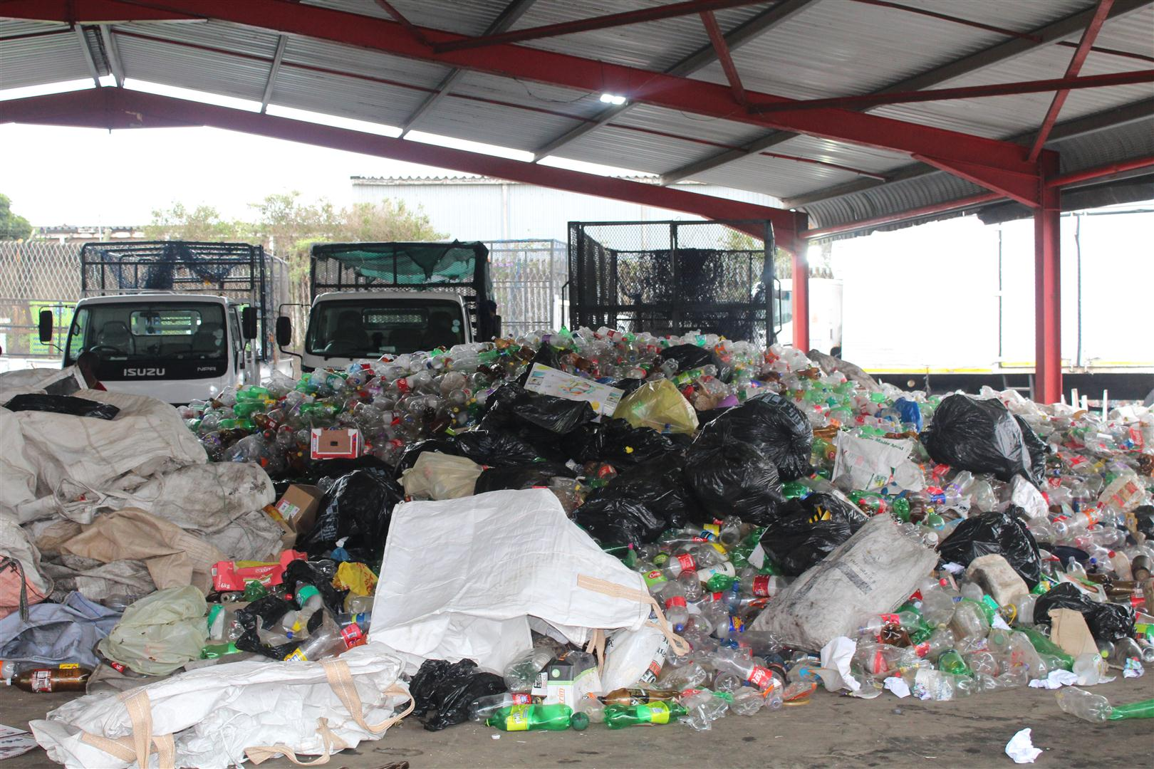 Ntokozo Mthembu's KwaMashu Buy Back Centre – a waste recycling management centre.