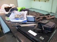 The stolen property recovered.