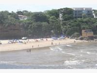 Uvongo beach.