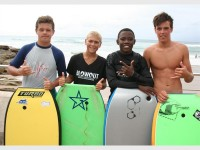 Cameron Palmer, D'Andre Hattingh, Phumelele Sogoni and Warren Somerville.