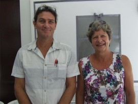 New faces: Margate Primary warmly welcomes new teachers Sean McFarlane and Geraldine Swart.