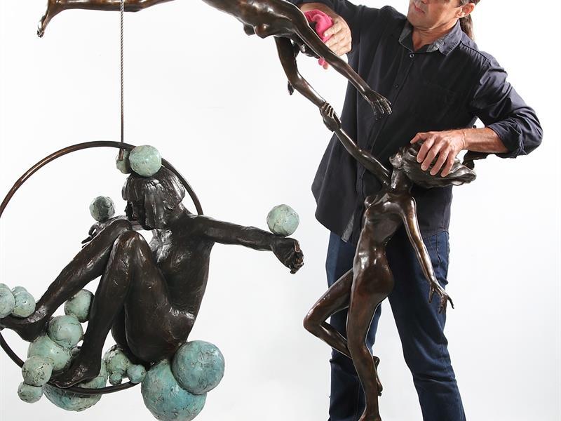 Local sculptor Marke Meyer.