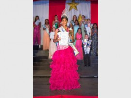Creleisha Moodley (13) of Shelly Beach was crowned Miss SA Petite Teen in Pretoria recently. The beautiful teenager is a grade 8 pupil at Creston College.