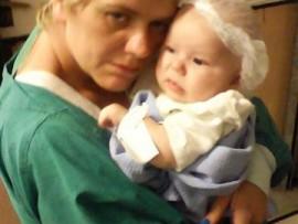 Amanda van Heerden and her daughter Juandra.
