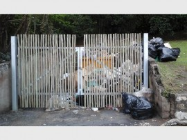 The refuse is left to pile up for weeks on end at this spot in Ramsgate.