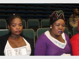 Nozipho (left) and Rita Phehlukwayo.