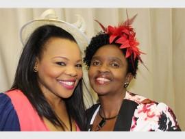 Pinkie Mbhele (left) and Zandile Chitha.