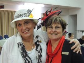 Elsie Pretorius (left) and Kitty Steenmans.