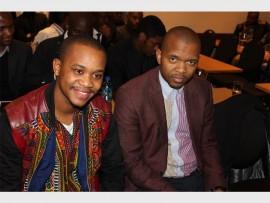 Sethu Sidzamba and Arthur Mbhele.