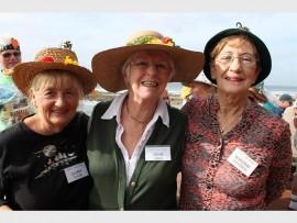 Gloria Taylor, Irene Jones and Dot Unsworth.