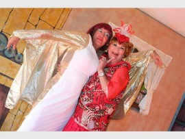 Dix Vorster (left) and Barbara Iceton star in 'Ain't Miss Behavin'. PHOTO BY SHONA AYLWARD