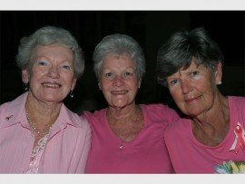Norma Askham, Pat Holliday and Patricia Landman.