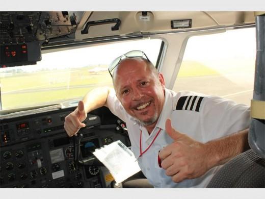 Pilot, Ian Fletcher.