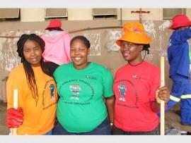 Ray Nkonyeni Municipality workers Thanda Mthwane, Smangele Ngwazi and Balungile Nhlumayo.