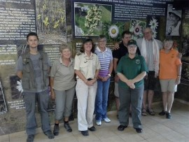 Honorary Officers (from left) Dave Ehlers Smith, Dorothy McIntyre,  Julia Watson,  Rika Heuer (on probation), Matt Williams, Debbie King,  Mark Getliffe (on probation) and Anne Skelton  invite you to their awareness day at the Umtamvuna Nature Reserve, Beacon Hill on Saturday, December 10, from 8am to noon.