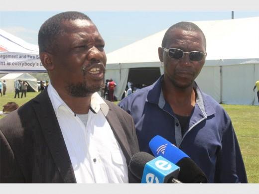 Cllr Mnyayaiza's brothers,  Sthembiso  and Siyabonga.
