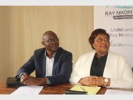 Ray Nkonyeni Municipality speaker, Councillor Doctor Njoko and Mayor Cynthia Mqwebu.