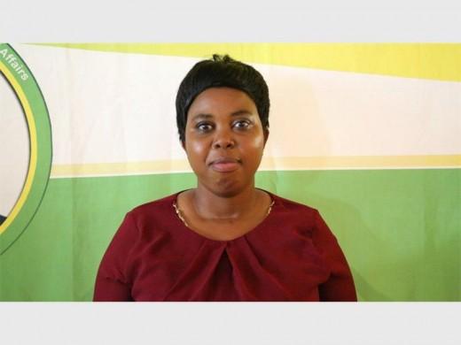 Ward 1 councillor Dorica Mthuli.