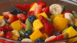 Try out this Rainbow Fruit salad