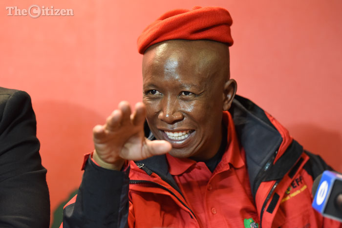 The moment Julius Malema received his honours degree