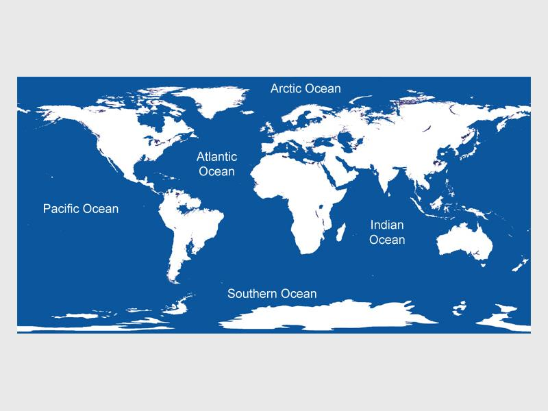 Name The Oceans Of The World
